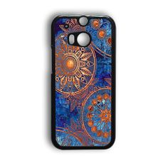Old Mandala Printing,Christmas Gifts 030 HTC One M8 Case