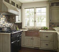gray kitchen design idea 42