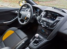 nice yellow colour 2013 Ford Focus 2013