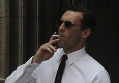 If anyone can make smoking look good, it's Don Draper.