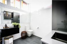 The Block Glasshouse | Staircase, laundry and powder room reveals | Blossom and Bright | diy and design