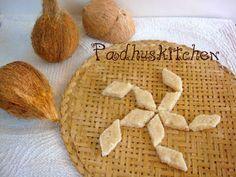 Coconut Burfi Recipe-Nariyal Burfi-Diwali sweet recipe