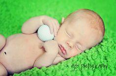 Art newborn...golf photography
