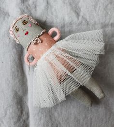 """6"""" doll made in Hungary 