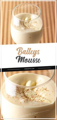 Baileys mousse , 4 ProPoints // 5 Preparation time: 10 min Cooking time: 5 min Additional time: 0 min Servings: 6 This dessert has such a creamy, creamy c. Mousse Dessert, Cinnamon Cream Cheese Frosting, Cinnamon Cream Cheeses, Bailey Mousse, Snack Recipes, Snacks, Irish Recipes, Irish Cream, Pumpkin Spice Cupcakes