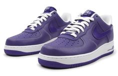 Nike Air Force 1 purple | Nike Air Force 1 is a Nike model shoe line that just keeps on making ...