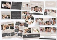 Photography Marketing Set 003. Printables. $45.00