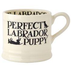 """Black Toast"" Black Toast Labrador Baby #Mug at Emma Bridgewater https://www.emmabridgewater.co.uk/invt/1blt020001"