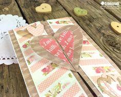Card Shape of the Month-Heart Gatefold Card Tutorial