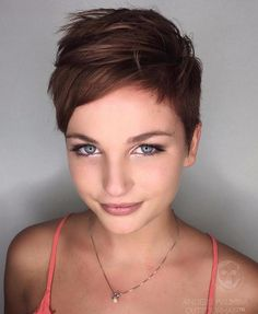 Feathered Pixie Haircut