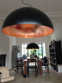 Bestel de Koepellamp, acrylaat - 70 cm doorsnede op Lampgigant.nl ✓ Snel gratis bezorgd ✓ Grootste collectie in NL & BE! Dining Room Lighting, Bar Lighting, Home Lighting, Chandelier Lighting, Lighting Design, Yellow Lamp Shades, Red Lamp Shade, Luminaire Design, Lamp Design
