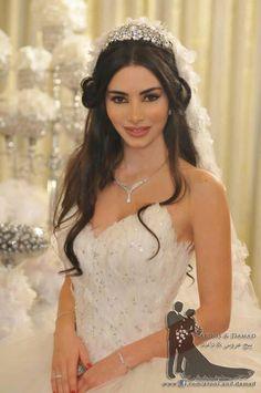 Bride Hairstyle, Persian Bride, Persian Makeup, Iranian Beautiful Bride, Wedding Hairstyle & Makeup