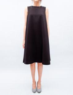 (via Rachel Comey Chronicle Dress- Black)