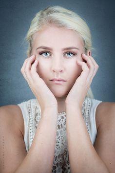 Blue eyed blond