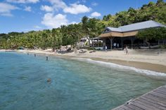 Cooper Island, BVI. The island with fifteen people, one restaurant, and really good food!!