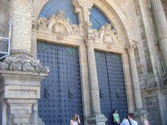 Pórtico de la Gloria de la Catedral de Santiago de Compostela. Galicia. España