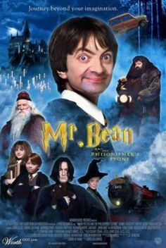 Mr. Bean as Harry Potter!