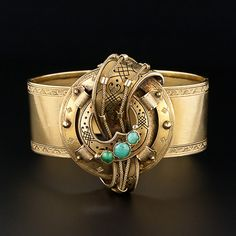 Antique French Cuff Bracelet