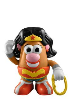 Wonder Woman Mrs. Potato Head :D  I want this!