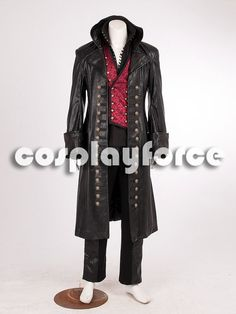 Once Upon a Time Killian Jones Captain Hook by cosplayforce $120