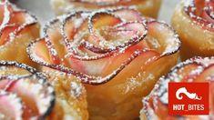 Apfelrosen aus Blätterteig (Quelle: Youtube / Manuela M)