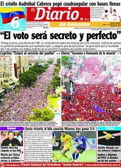El Diario de Guayana - 01 Octubre 2012