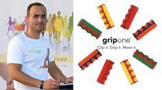 Gerhard Kopp stellt seine Erfindung – #gripOne® in der Reportage #VomSpinnerzumGewinner auf #Kabel1 vor