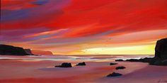 "Pam Carter - ""Sundown at the Stacks"""