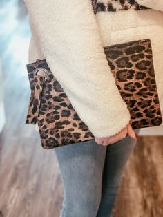 Shop online & in store @ Miss Modern Boutique Leopard Clutch, Online Boutiques, Affordable Fashion, Boutique Clothing, Heaven, Fashion Outfits, Store, Casual, Modern
