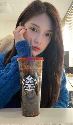 Kpop Girl Groups, Kpop Girls, Glass Of Milk