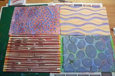 Life and Art by Mandy van Goeije: Texture plates for the Gelli Plates