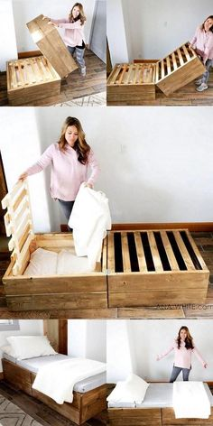 35 + Interesting ideas, the old wooden pallets a new .- 35 + Interessante Ideen, die alten Holzpaletten einen neuen Look verleihen – Hol … – Holz DIY Ideen 35 + Interesting ideas that give old wooden pallets a new look – Wooden … – Wooden DIY ideas -