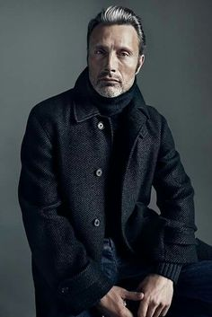 Mads Mikkelsen ♡ not only hannibal ♡ He is fabulous