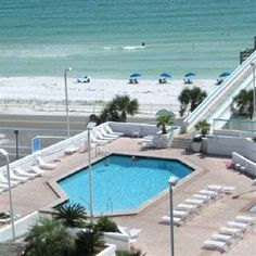 Surfside Resort is situated right across the street from the beach. A high-rise resort with a sky-bridge from the pool deck to the beaches, Surfside is located at Miramar Beach in Destin - near golf, restaurants, shopping and more. ***3 1/2 Stars