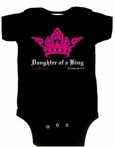 Daughter of a King Onesie | JCs Christian Clothing
