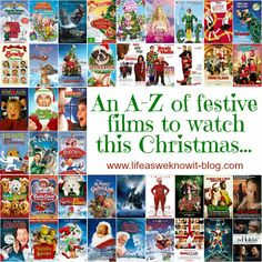 an a z of festive films to watch this christmascompiled by lisa at - List Of Christmas Films