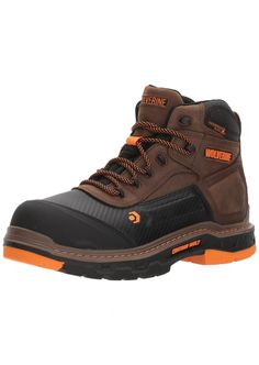 online shopping for Wolverine Men's Overpass 6 Composite Toe Waterproof Work Boot from top store. See new offer for Wolverine Men's Overpass 6 Composite Toe Waterproof Work Boot Most Comfortable Work Boots, Insulated Work Boots, Good Work Boots, Mens Work Boots, Men's Shoes, Shoe Boots, Summer Brown, Steel Toe Work Boots, Minimalist Shoes