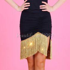 NEW-Latin-salsa-tango-rumba-Cha-cha-Square-Ballroom-Dance-Dress-QJ054-Skirt