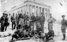 The SBS (Special Boat Service) enjoying a tourist trip around Greece, WWII