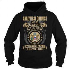 Analytical Chemist Job Title V1 - #designer t shirts #kids t shirts. SIMILAR ITEMS => https://www.sunfrog.com/Jobs/Analytical-Chemist-Job-Title-V1-Black-Hoodie.html?60505
