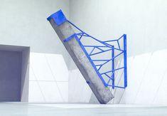 Measurement Visualised in Metal + Concrete | Fabrice le Nezet