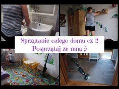 Sprzątanie całego domu cz 2. Posprzątaj ze mną. Motywacyjne sprzątanie :) - YouTube Cali, Bathtub, Youtube, Standing Bath, Bathtubs, Bath, Youtubers, Bath Tub, Youtube Movies