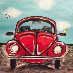 Car Painting, Painting & Drawing, Watercolor Paintings, Copic Drawings, Easy Drawings, Simple Canvas Paintings, Canvas Art, Hand Art, Rock Art
