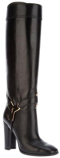 Knee Length Boot Yves Saint Lauren