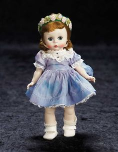 View Catalog Item - Theriault's Antique Doll Auctions Dressed for Maypole Dance