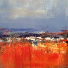Canyon by Isabelle Nativelle 80x80 acrylic on canvas
