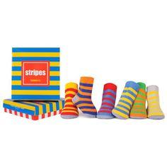 Trumpette - Bright Stripes Socks Assorted 6 Pack 0M-12M