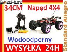 Samochód NQD Monster Truck Wodoodporny 4x4 34cm !!