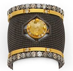 SUNEERA Aria Cigar Band stacked with Githa diamond Bands and Ada Gold Bands