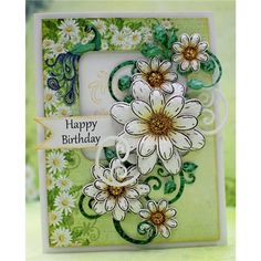 Heartfelt Creations Delightful Daisy Die from Create and Craft USA